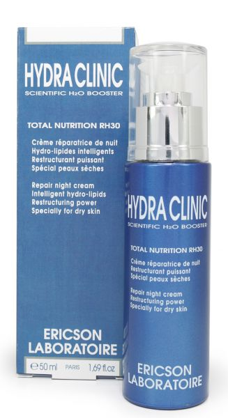 Hydra Clinic Total Nutrition RH30 Repair Nachtcreme