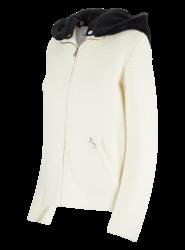 Damen Strickjacke mit abnehmbarer Kapuze